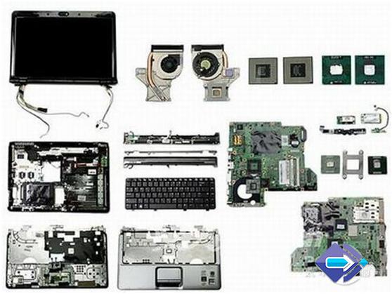 بخش های تشکیل دهنده یک لپ تاپ