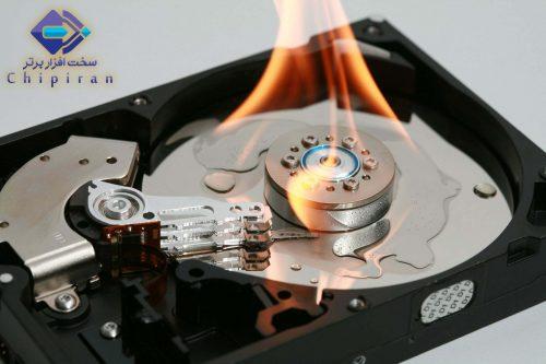 تعمیر هاردهای سوخته